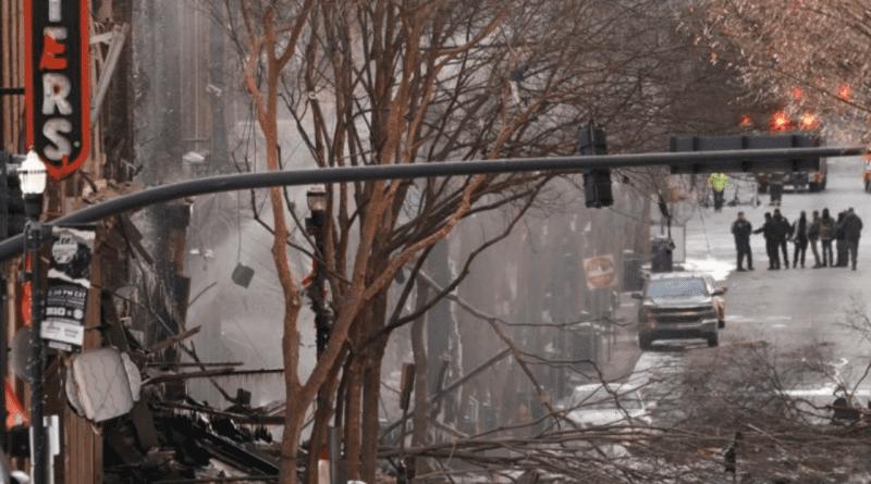 """Policía de Nashville: """"explosión de vehículo fue un acto intencional"""""""