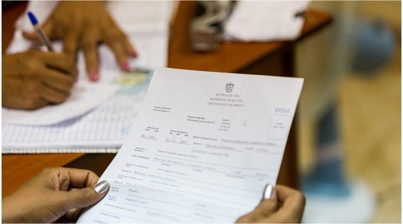 tarifas certificaciones Cuba