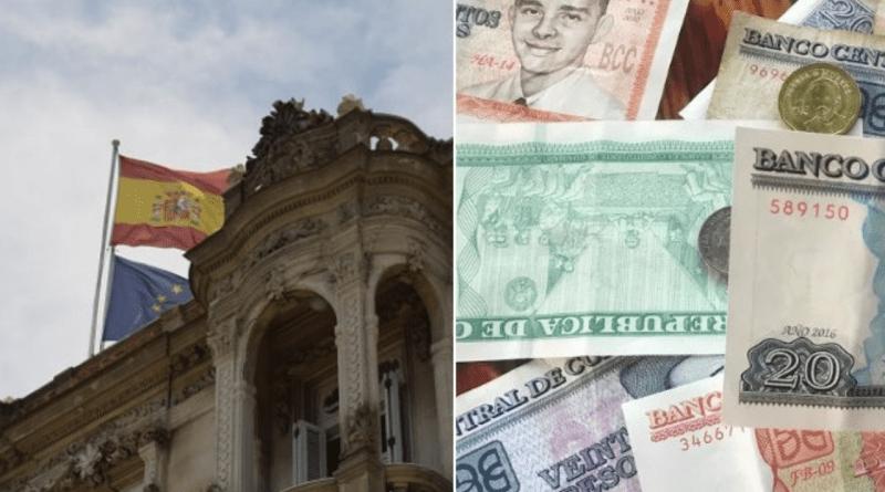 Nuevas tarifas en pesos cubanos del consulado de España en Cuba