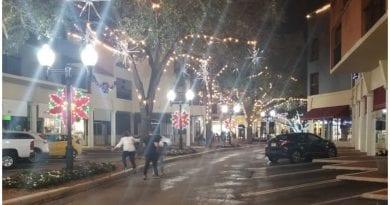 toque queda navidad Miami