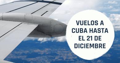 Ofertas en Vuelos a Cuba desde 480 dólares (hasta el 21 de diciembre)