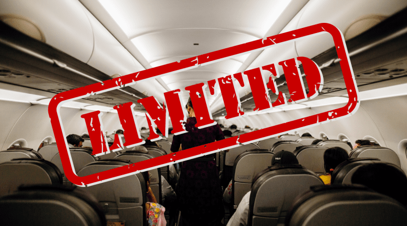 Suspenden 90% de los vuelos diarios de Estados Unidos a Cuba