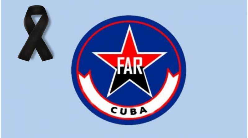 Cuba accidente helicoptero FAR
