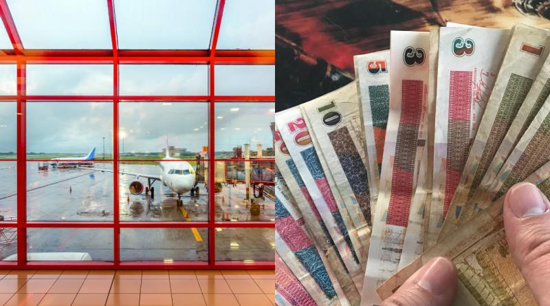 Cambian 7400 pesos por 300 dólares en aeropuertos de Cuba