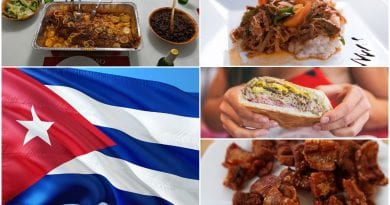 Comida cubana platos tipicos