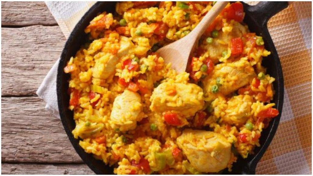 Comida cubana platos tipicos - arroz chorrera