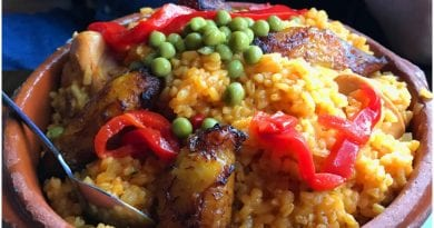 Comida cubana platos tipicos - arroz pollo