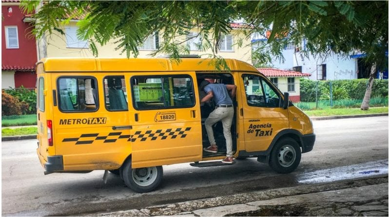 Opciones transporte Cuba pandemia