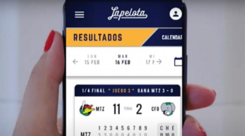 """El beisbol cubano entra al mundo digital con la aplicación """"lapelota"""""""