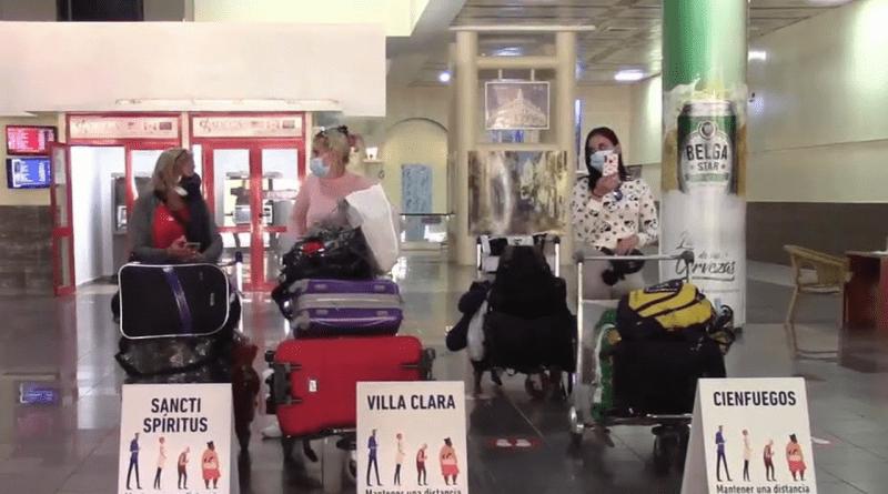 Cubanos residentes pueden salir de Cuba en vuelos regulares