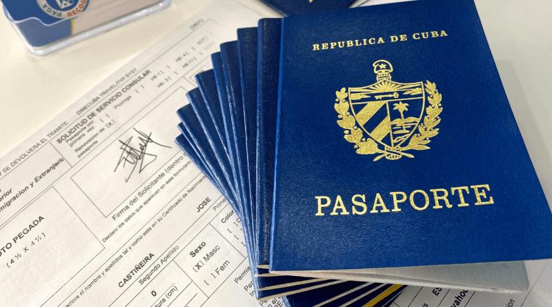 Cubanos en el exterior deben pagar 5625 pesos por su pasaporte (+Tarifas)