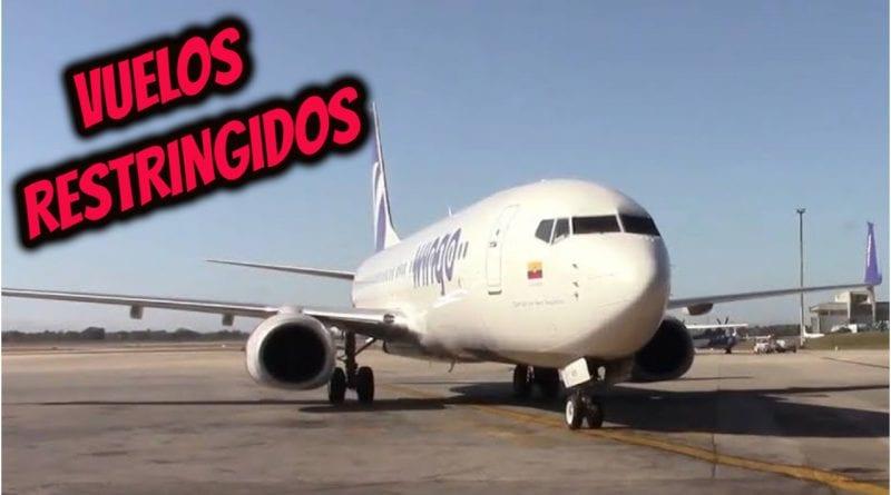 vuelos Cuba marzo restriccion
