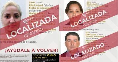 Cubanos desaparecidos Mexico EEUU