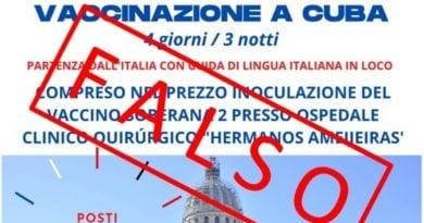 Embajada Cuba Italia vacuna