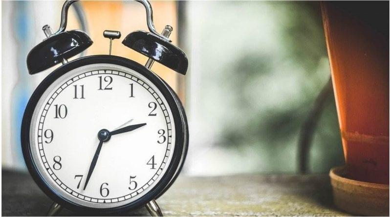 España cambio horario marzo