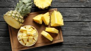 Frutas cubanas: Piña