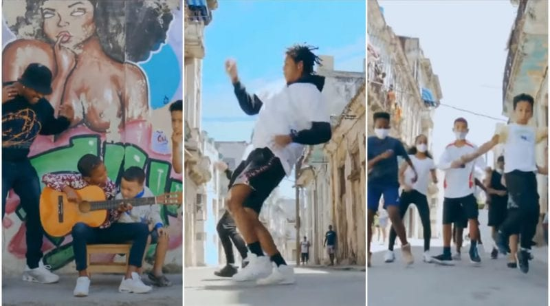 Bailarines cubanos chellenge Ozuna