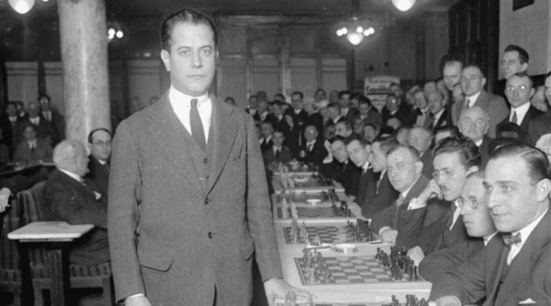 100 años de Capablanca como Campeón Mundial de Ajedrez