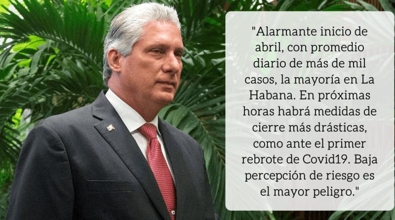 Cuba regresa a las medidas más drásticas del comienzo de pandemia