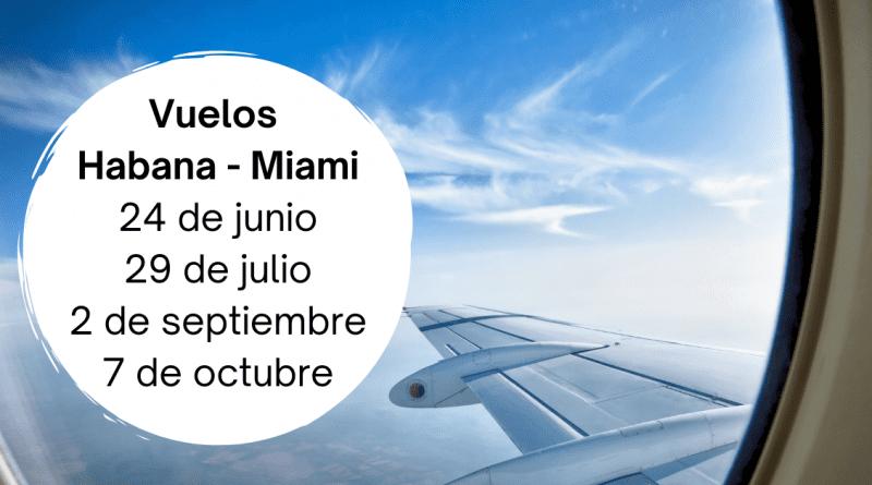 Estos son los vuelos de repatriación desde Cuba (asientos limitados)