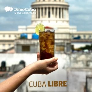 cocteles cubanos cubalibre