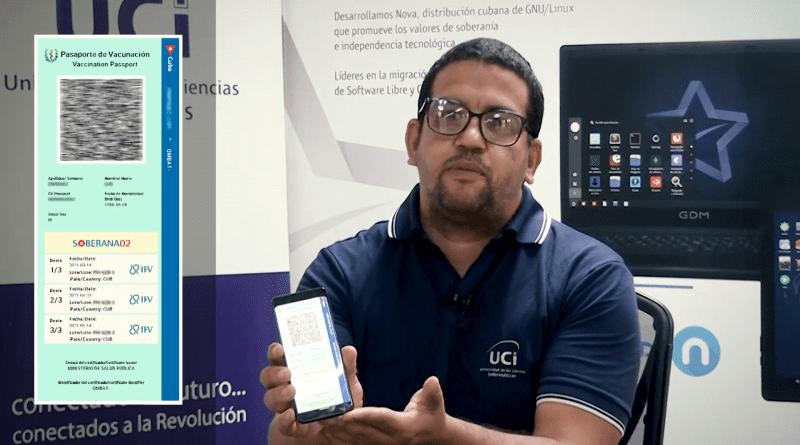Cuba desarrolla pasaporte digital de vacunación Covid19