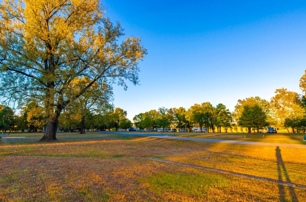 Conway parque de la ciudad