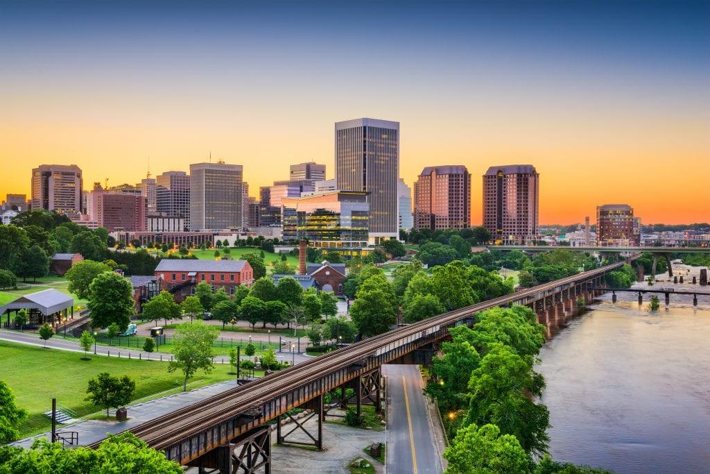 Richmond ciudad de USA