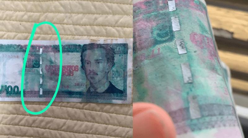 Denuncian estafa de venta de billetes de pesos cubanos falsos