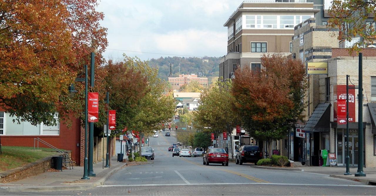 Fayetteville, Arkansas: donde nació Walmart