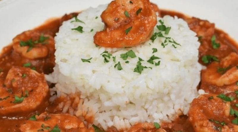 Receta de Enchilado de Camarones Cubano: comida cubana creole