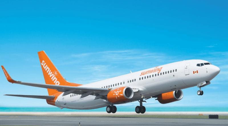 Sunwing suspende vuelos a Cuba hasta 29 de julio