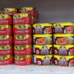 Comida donada a Cuba: Carne en Pinar del Río, aceite para Cienfuegos y atún en Oriente