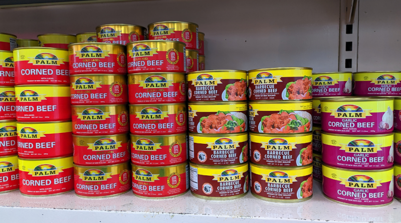 Comida donada a Cuba: Carne en Pinar del Río, aceite en Cienfuegos y atún en oriente