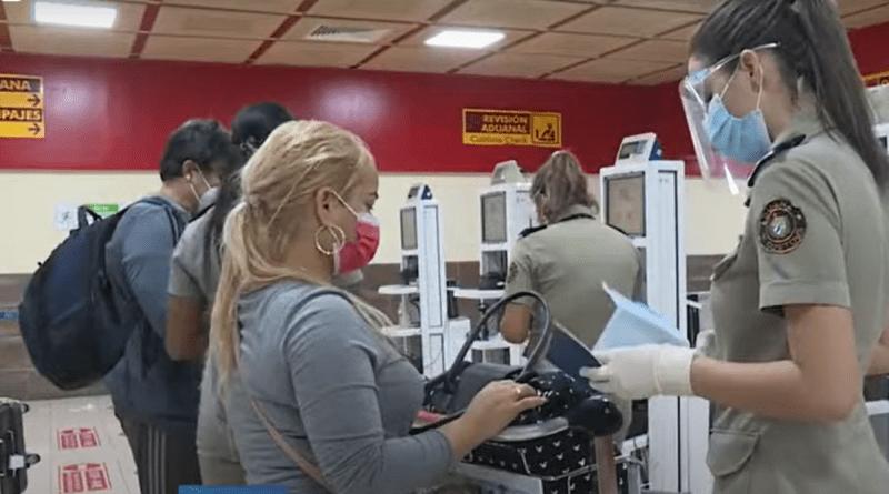 Estos equipajes serán retenidos en la Aduana de Cuba