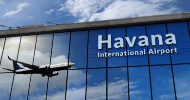 Listado de vuelos en Cuba para el mes de septiembre