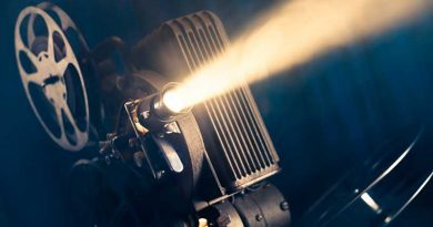 Antiguo proyector de películas cubanas